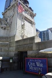 Civil War Museum entrance. Photo by Erin K. Hylton 2016.
