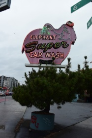 Elephant Super Car Wash. Photo by Erin K. Hylton 2016.