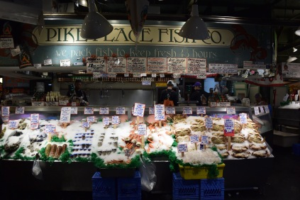 Pike Place Fish Company. Photo by Erin K. Hylton 2016.