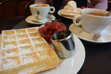 Belgian Waffles. Photo by Erin K. Hylton 2019.