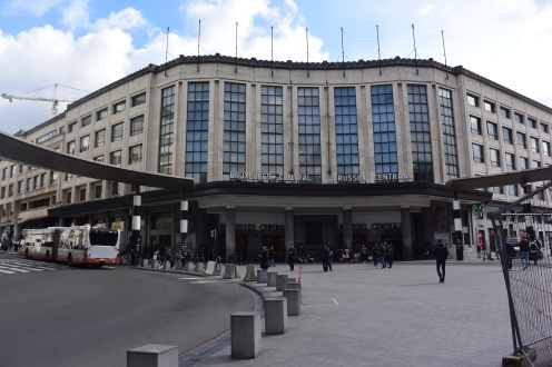Brussels Central Station. Photo by Erin K. Hylton