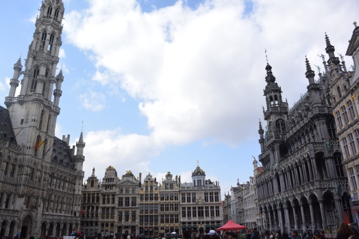 Grand-Place, Brussels. Photo by Erin K. Hylton 2019.