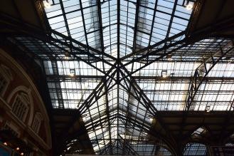 Train Station Ceiling. Photo by Erin K. Hylton 2019.