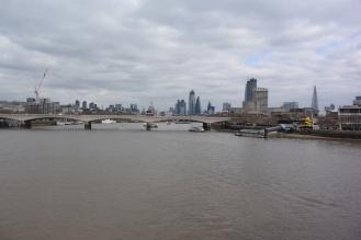 The Thames. Photo by Erin K. Hylton 2019.