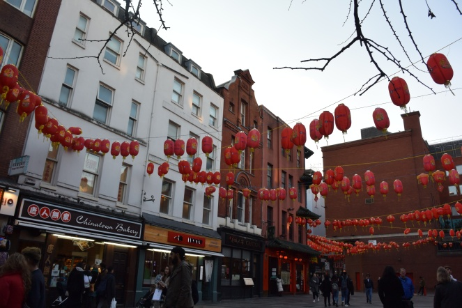 Chinatown, London. Photo by Erin K. Hylton 2019.